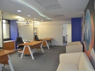 Remodelación oficinas corporativas. Col. Juarez: Oficinas y tiendas de estilo  por BIG BANG ARQUITECTOS