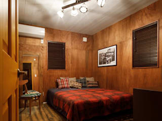 house-14: dwarfが手掛けた寝室です。,