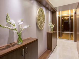 Modern Corridor, Hallway and Staircase by Design Ka:Tha Modern