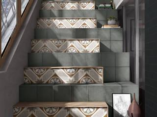 Equipe Ceramicas Koridor & Tangga Gaya Mediteran Keramik
