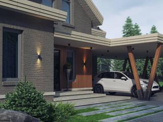 Частный дом:  в . Автор – Архитектурное бюро 'Шумливый и Партнеры',