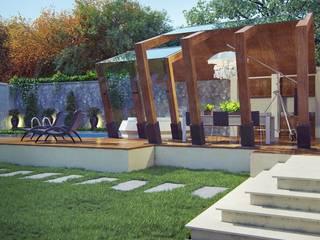 Частный дом : Tерраса в . Автор – Архитектурное бюро 'Шумливый и Партнеры',