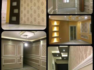شركات ديكور وزتشطيبات في مصر - من أعمالنا النهائية لديكور شقة مع شركة كاسل castle2018: كلاسيكي  تنفيذ كاسل للإستشارات الهندسية وأعمال الديكور في القاهرة, كلاسيكي