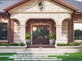 Загородная усадьба: Загородные дома в . Автор – Архитектурное бюро 'Шумливый и Партнеры',