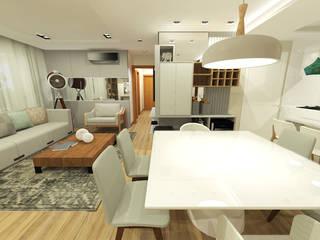 apartamento ecoville Salas de jantar modernas por INOVAT Arquitetura e interiores Moderno