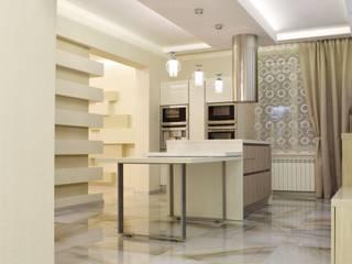 Квартира для молодой девушки в центре города. Столовая комната в стиле минимализм от Дамира Бикинеева Минимализм