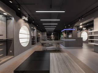 Sport Retail Espaços comerciais modernos por Cervus Concept & Retail Moderno