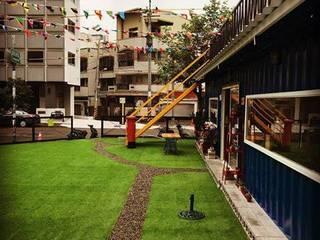 台中迷路MiLu工業風貨櫃屋店面 義大利餐廳 根據 貨櫃屋設計狂人