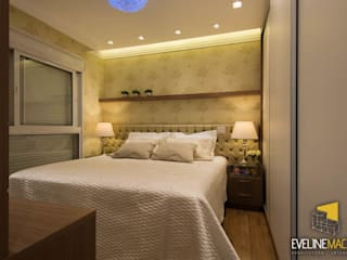 Modern style bedroom by Eveline Maciel - Arquitetura e Interiores Modern