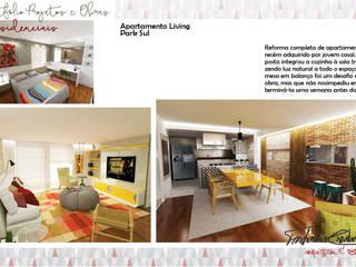 Apartamento Living Park Sul por Fabrício Cardoso Arquitetura Moderno