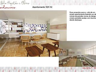 Apartamento SQS 112 por Fabrício Cardoso Arquitetura Moderno