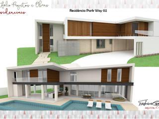 Residência Park Way 02 por Fabrício Cardoso Arquitetura Moderno