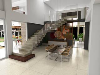 Residência Park Way 02 Salas de jantar modernas por Fabrício Cardoso Arquitetura Moderno