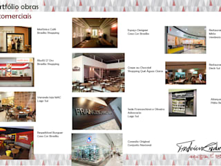 Projetos/ Obras Comerciais por Fabrício Cardoso Arquitetura