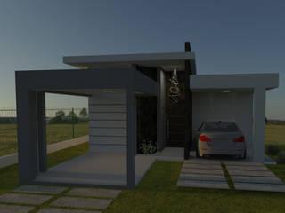 Residência Noleto: Casas  por DA.rquitetura,Moderno