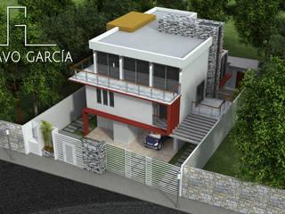 Casa De Sousa Casas modernas de Arq. Gustavo García Moderno