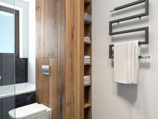 Atrakcyjne mieszkanie w nowej inwestycji Nowoczesna łazienka od MJanimo sp. z o.o Nowoczesny