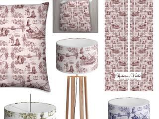 Collection Toile de Jouy l'élégance au cœur du textile Parisien:  de style  par Rideau-voile, Classique