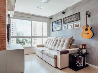 Livings de estilo moderno de Camila Chalon Arquitetura Moderno
