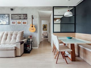 Dining room by Camila Chalon Arquitetura, Modern