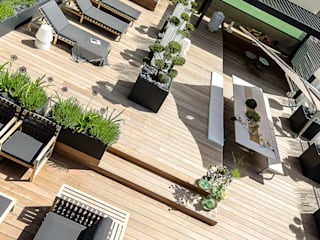 ATELIER SO GREEN Balconies, verandas & terraces Accessories & decoration Grey
