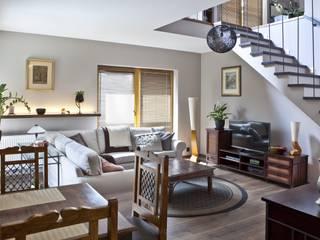 Włochy | Realizacja: styl , w kategorii Salon zaprojektowany przez DW SIGN Pracownia Architektury Wnętrz