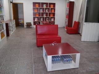 Libreria, Montenegro Editores: Estudios y oficinas de estilo  por BIG BANG ARQUITECTOS