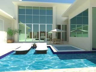 LAZER Casas modernas por JC ARQUITETURA E INTERIORES Moderno