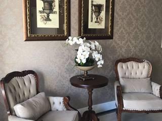 Hall entrada Corredores, halls e escadas clássicos por JC ARQUITETURA E INTERIORES Clássico