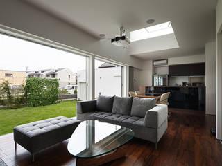 Modern Living Room by *studio LOOP 建築設計事務所 Modern