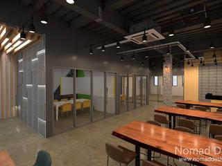 인성CNI 부산 사무실인테리어 - 노마드디자인: 노마드디자인 / Nomad design의
