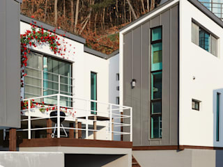 The Secret Pool Villa Resort 북한강(가평) Type Steel②: IAMDESIGN.의  호텔