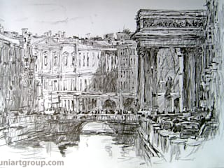 Графика карандашом:  в . Автор – Art Universal Group,