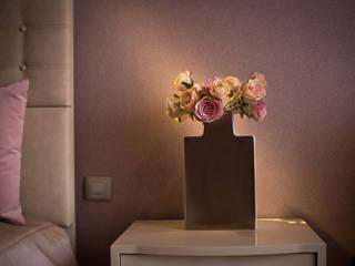 Спальня в стиле минимализм.:  в . Автор – Дизайн-студия интерьера и ландшафта 'Деметра'