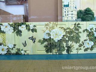 Роспись мебели:  в . Автор – Art Universal Group