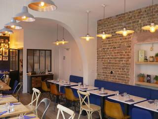 Restautant Italien Rénovation & décoration par Coralie Balléry Décoration