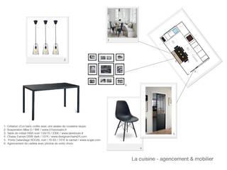 Planche du projet cuisine 2/2:  de style  par Coralie Balléry Décoration
