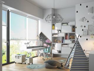 Nowoczesny dom w podwarszawskim Lipkowie.: styl , w kategorii  zaprojektowany przez TETE concept,
