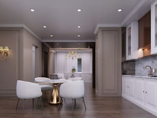 Luxury modern home Magna Interior KitchenCabinets & shelves