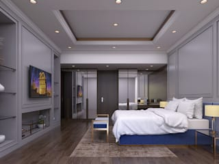 Luxury modern home Magna Interior BedroomBeds & headboards