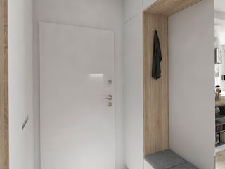 Ingresso & Corridoio in stile  di INVENTIVE studio