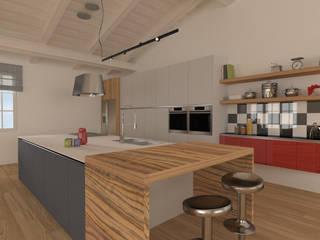 Progetto OpenSpace21: Cucina attrezzata in stile  di serenascaioli_progettidinterni