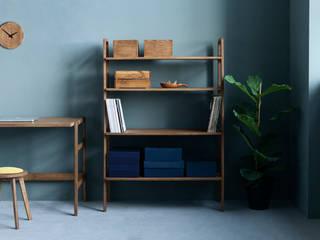 Regał FRISK Midi: styl , w kategorii  zaprojektowany przez Plywood Project