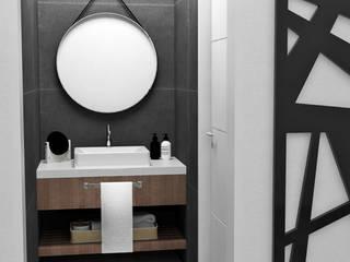 BAÑO EN SUITE: Baños de estilo  por JACH
