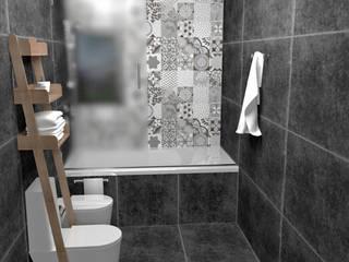 Minimalist style bathroom by JACH Minimalist
