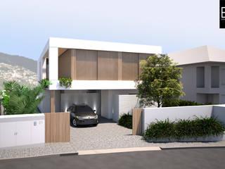 Casa unifamiliare in stile  di EMF arquitetura