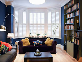 Style It Dark Eclectic style living room by Moxy & Co Studio Eclectic