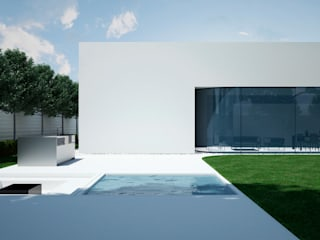 Casas de estilo  por Way-Project Architecture & Design, Minimalista