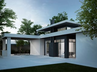 Way-Project Architecture & Design Minimalist Evler
