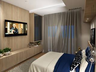 Habitaciones de estilo  por Rebeka Ferle Maske